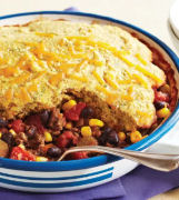Barbecue Beans with Cornbread