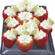 Key Lime Pie Stuffed Strawberries
