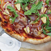 Easy Hawaiian Proscuitto Pizza