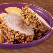 Pecan-Crusted Pork Tenderloin