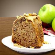 Caramel Apple Bunt Cake