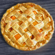 Apple Apricot Pie