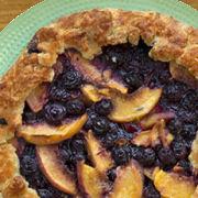 Peach Blueberry Galette